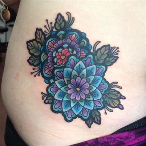 cover cross tattoo check out this beautiful mandala iamkrysc did to