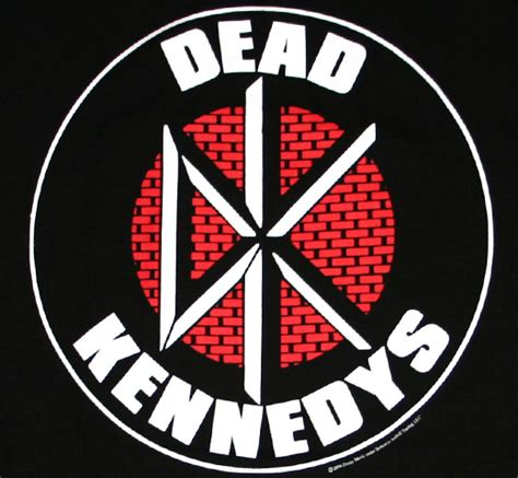 Kaos Dead Kennedys Logo Font dead kennedys infectious magazine