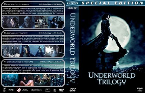 film complet underworld 1 underworld trilogy lg1 movie dvd custom covers