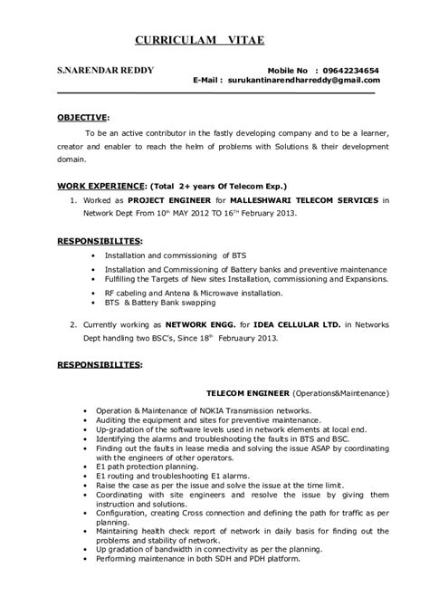sample resume of engineering student foodcity me