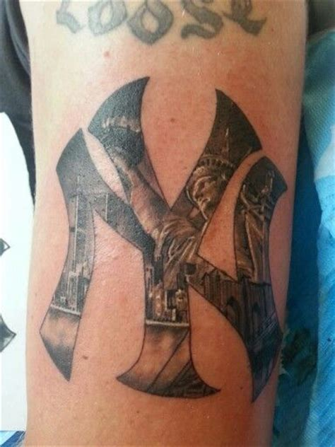 23 best new york yankees tattoos images on pinterest