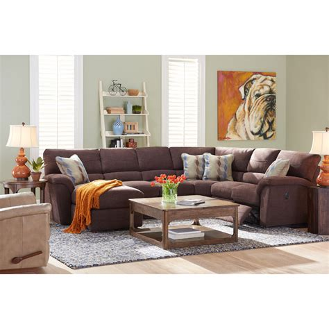 lazy boy reese recliner sofa reese sectional