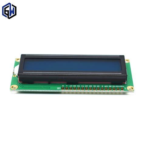 Terbaru Lcd Display 1602 Blue Green For Arduino Lcd 16x2 Kualitas 1pcs tenstar robot lcd1602 lcd monitor 1602 5v blue screen and white code for arduino