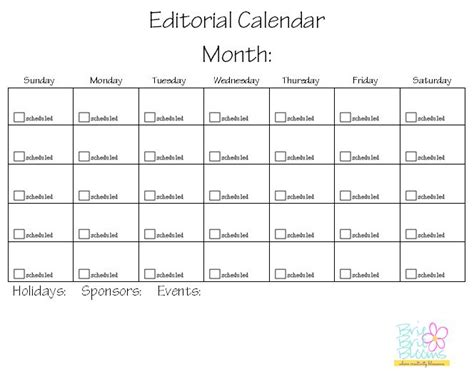 free editorial calendar template organization tips and free printables to keep your