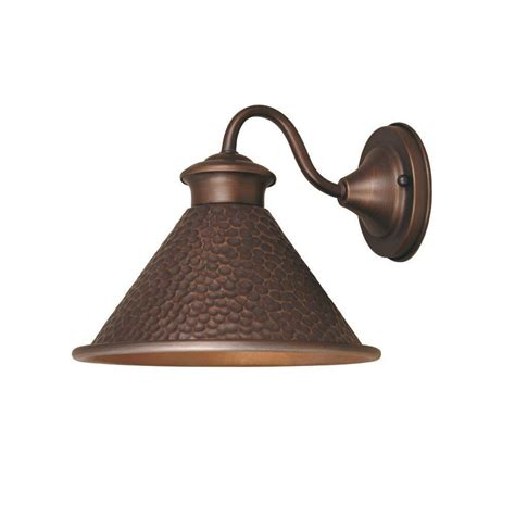 World Imports Dark Sky Essen 1 Light Outdoor Antique Outdoor Lighting Copper