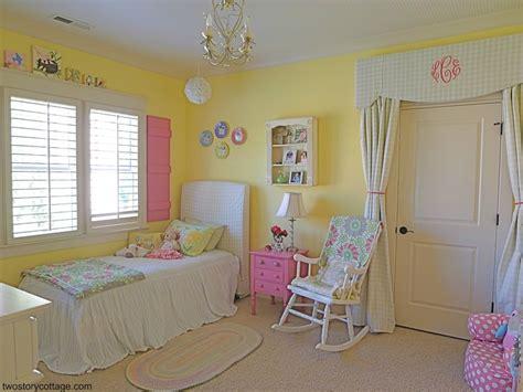 big pink bedroom love the curtain over the door sweet eclectic little