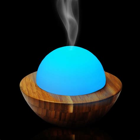 Aroma Diffuser D 008 bamboo wood aroma aromatherapy diffuser diffuser free