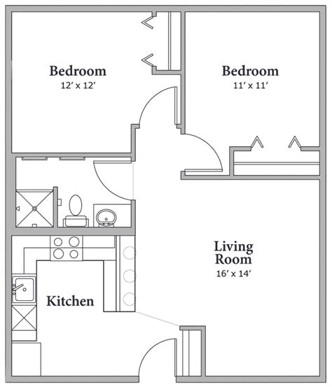 Floor Plans Middle Creek At Vail 145 North Frontage 750 Square Floor Plan 3 Bedroom