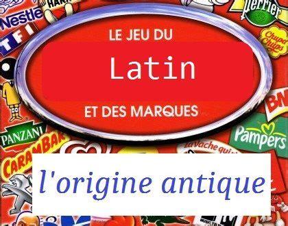 le latin et le le latin et les marques un jeu d initiation arr 234 te ton char