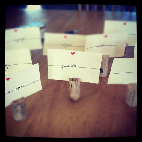 Handmade Name Tags - my dinner name tags name tags