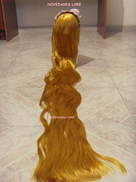 la peluca de rapunzel 842417075x hermosa peluca rapunzel disfraz enredados vestido zapatillas 380 00 en mercado libre