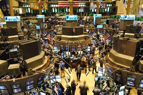 Nyse Floor by New York Stock Exchange Trading Floor Global Risk Insights