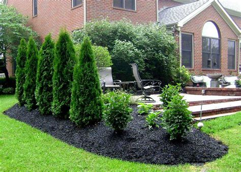 Landscaping Ideas For Backyard Privacy Privacy Backyard Ideas Marceladick