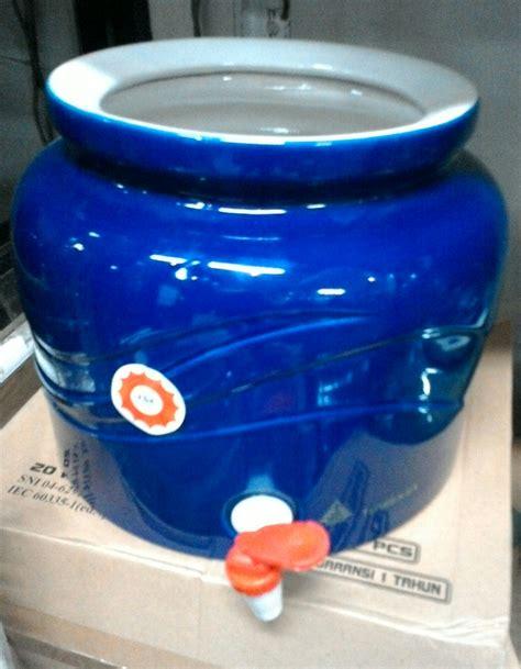 Dispenser Guci Keramik jual galon guci tempat aqua galon bahan keramik jason