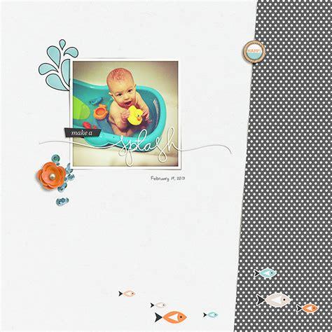 Paper Guppy guppy digital scrapbooking papers one bird