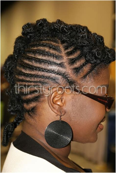 Mohawk Cornrow Designs | cornrows braids mohawk