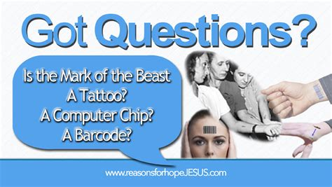 mark of the beast tattoo is the of the beast a a computer chip a