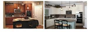 Before And After White Kitchen Cabinets Kitchen Awesome Painting Kitchen Cabinets White Painting Kitchen Cabinets Without Sanding Behr