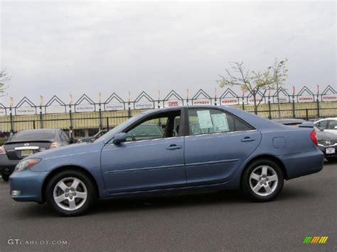 2004 Toyota Camry Se V6 Blue Metallic 2004 Toyota Camry Se V6 Exterior