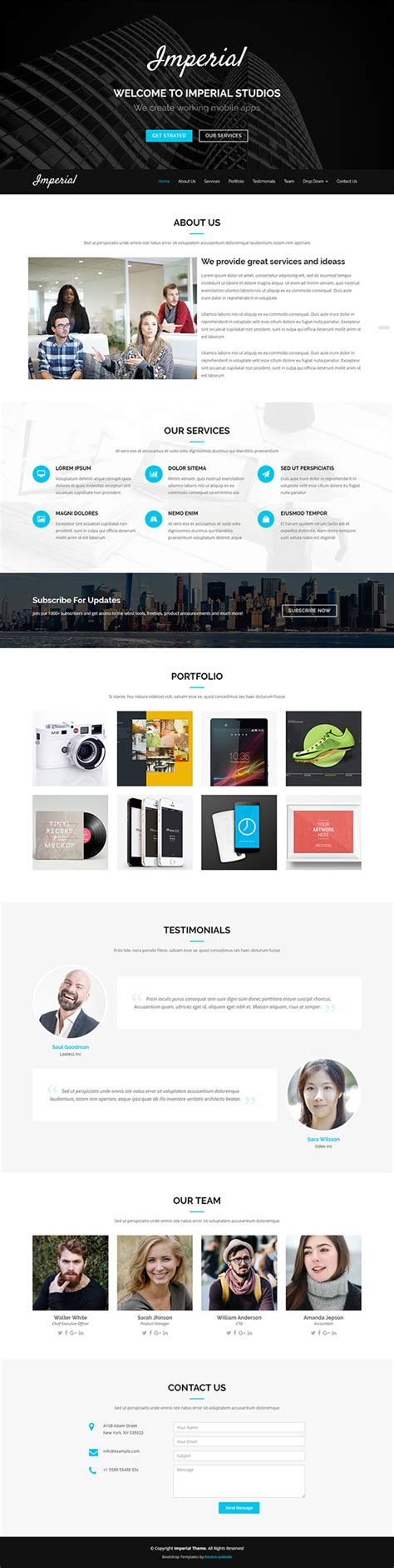 hero layout bootstrap 51 free bootstrap themes templates