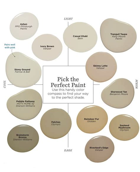 Best Taupe Paint Colors | best 25 taupe paint colors ideas on pinterest bedroom