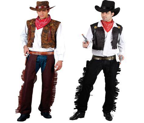 west cowboy mens fancy dress costume gunslinger