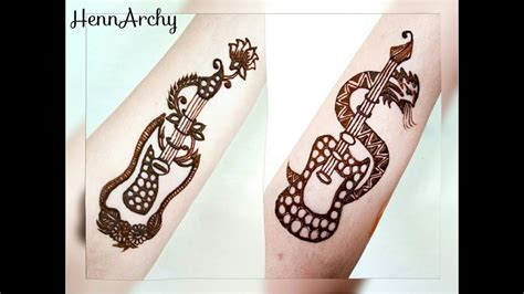 the boy with the henna tattoo guitar henna tattoos vs boys by hennarchy