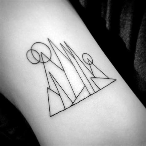tattoo simple shapes 40 simple geometric tattoos for men design ideas with shapes
