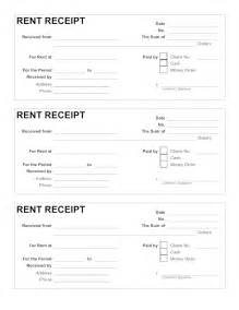 Car Rental Receipt Template Word Rent Receipt Template