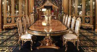 Exclusive Dining Room Furniture Luxury Dining Furniture Exquisite Boulle Marquetry Work