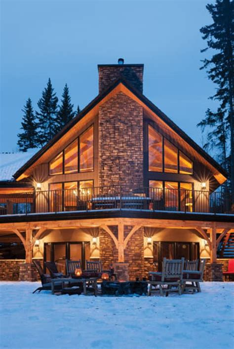 Outstanding Timber Frame Home! (19 HQ Pictures)   Top
