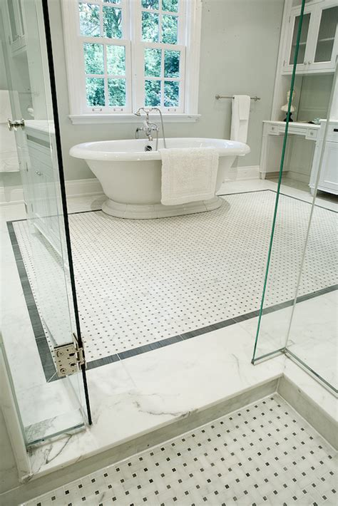 basketweave tile bathroom marble basketweave tiles contemporary bathroom terra