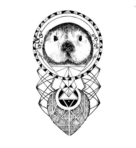 otter tattoo designs the sea otter design by miletune on deviantart