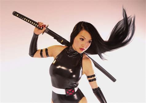 the2leep hot girls with sword photo shoot vy bit me images vybitme psylocke with sword