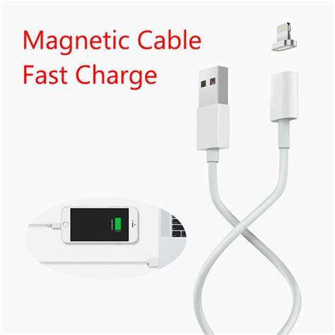 Kabel Charger Micro Usb Transparant T1910 4 k 246 p max till 229 tet 2 4a laddnings magnetisk kabel f 246 r iphone 5 5s 5c