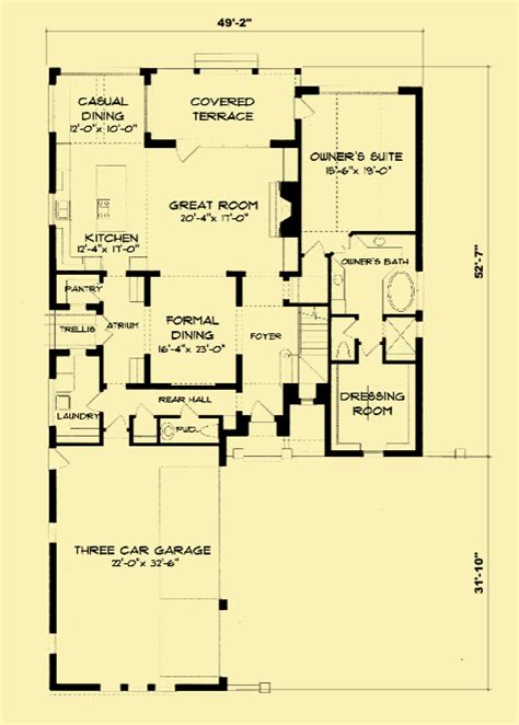 tudor revival floor plans tudor house plans for 2 story home with 4 bedrooms