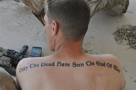 military quote tattoos 41 quotes tattoos