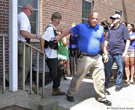 dylann roof and the first person to blame the charleston shooting on a