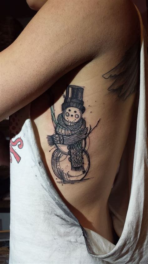 vicky tattoo designs snowman by filiault design by filiault