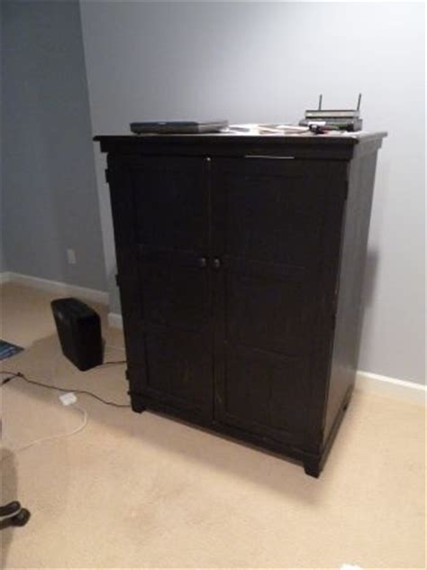 distressed computer armoire black wooden distressed double door armoire perfect as