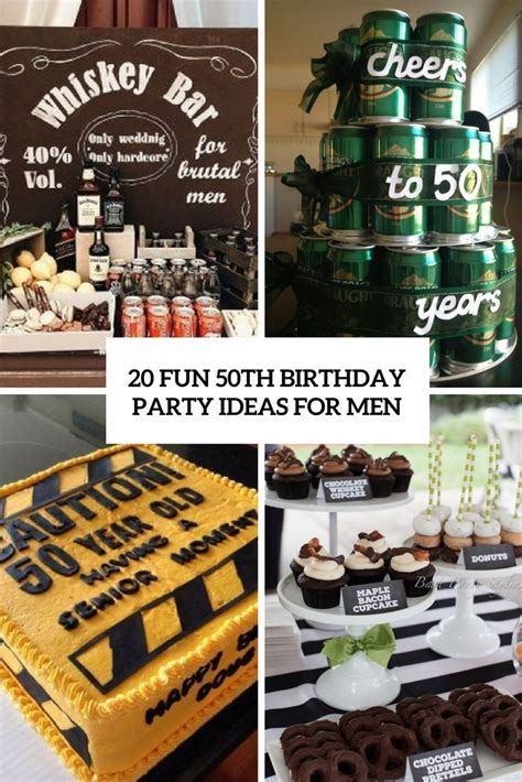 birthday themes for 20 50th birthday ideas for shelterness