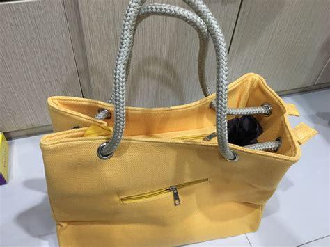 Tas Guess Warna Kuning jual tas cotton santai multi guna warna kuning baru bags wanita murah