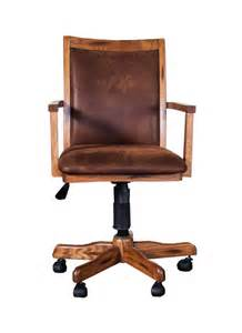 rustic desk chair sd 2961ro sedona rustic oak office chair with cushion back