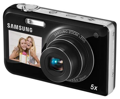 Kamera Samsung Dual View harga samsung pl170 compact dual lcd display