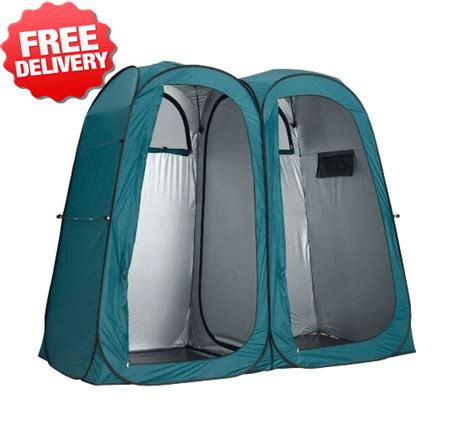 pop up bathroom tent oztrail double pop up shower tent ensuite change room