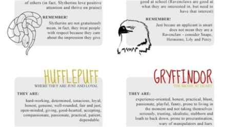 harry potter house descriptions harry potter always pinterest harry potter