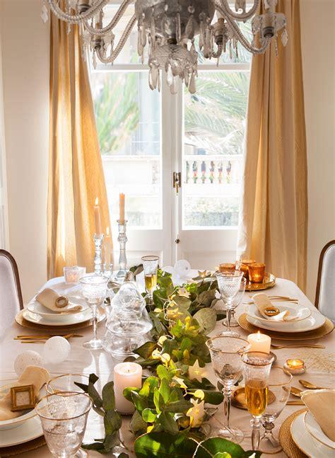 como decorar un comedor de navidad 15 propuestas para decorar la mesa de fiesta