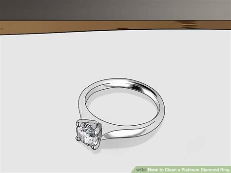 cleaning platinum rings wedding promise