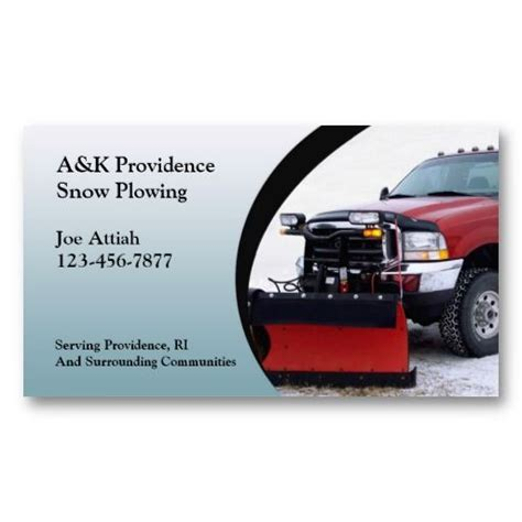 22 Best Snow Removal Business Cards Images On Pinterest Business Cards Carte De Visite And Snow Plowing Business Card Template