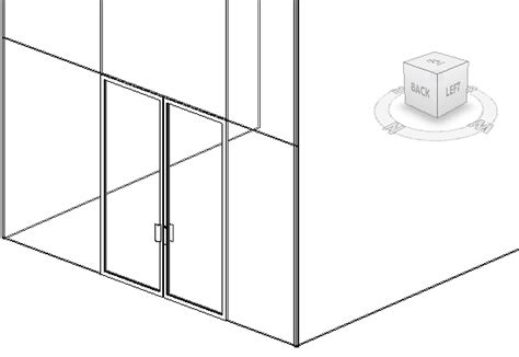 door in curtain wall revit curtainwallbim adding curtain wall doors